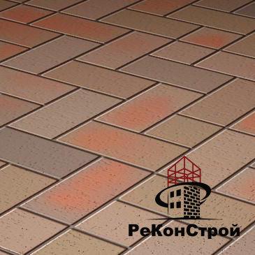 Клинкерная брусчатка БрукКерам, Магма Топаз, 200*100*45 мм в Волгограде
